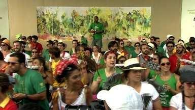 Blocos agitam o sábado (17) a um mês para o carnaval - Muitos blocos já estão ensaiando para tudo dar certo no carnaval.