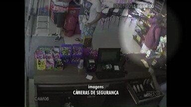 Homem armado assalta posto de combustíveis em Maringá - O posto foi aberto há um mês