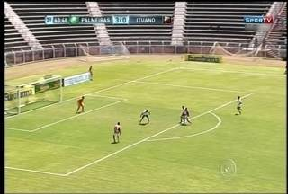 Palmeiras vence e elimina o Ituano na Copa SP - Pelas oitavas de final da Copa São Paulo de Futebol Júnior, o Ituano foi eliminado pelo Palmeiras hoje de manhã.