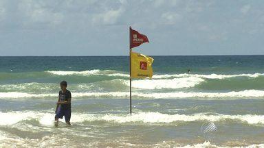 Salva-vidas falam sobre perigos nas praias no verão - Segundo eles, nesse período é preciso redobrar a atenção.