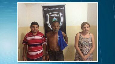 Três pessoas são presas suspeitas de matar ex-vereador do Sertão da PB - Um dos suspeitos seria conhecido da vítima.