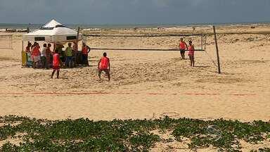 Atividades esportivas são realizadas - Atividades esportivas são realizadas.