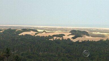 Biólogos descobrem sítios arqueológicos em Pirambu - Biólogos descobrem sítios arqueológicos em Pirambu.