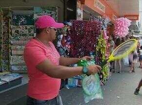 Comércio lucra com venda de acessórios usados para combater insetos - Repelentes, mosquiteiros e 'raquetes' são itens mais procurados.