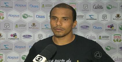 Marcelo Maciel se destaca no Treze e já marcou seis gols em quatro amistosos - Atacante já fez a metade dos gols do Galo durante esta pré-temporada