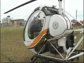 Helicóptero do Batalhão de Aviação da Brigada Militar vai atuar nas praias - O helicóptero vai auxiliar no policiamento do Cassino e Laranjal