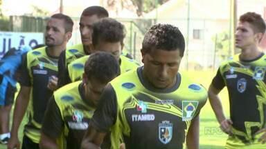 Foz Futebol se prepara para o primeiro jogo treino da temporada - Equipe enfrenta o Cascavel antes da estréia no paranaense 2015