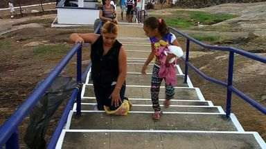 Romaria de São Sebastião recebe homenagem de centenas de fiéis no Ceará - Santo é padroeiro de cidades no interior do Ceará.