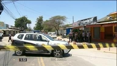 Reconstituição aponta que tiro para o alto pode ter matado a menina Larissa no Rio - A menina, de apenas quatro anos, morreu vítima de uma bala perdida no fim de semana.