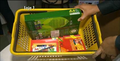 Pesquisa do Procon mostra aumento de 11% no preço dos itens básicos do material escolar - Veja como economizar dinheiro nas hora das compras.