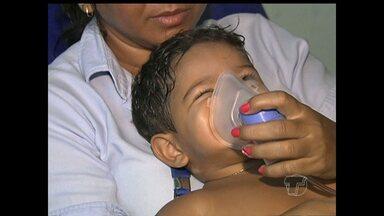 Crianças são as mais afetadas com doenças que surgem no período das chuvas - Médicos orientam para cuidados básicos a fim de evitar doenças.