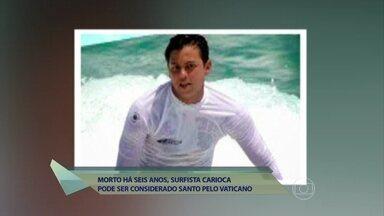 Surfista Guido Schaffer, morto há seis anos, pode se tornar santo - Canonização está na primeira de quatro etapas do Vaticano