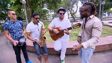 Alessandro Timbó conhece a banda Samba Jam - Samba jam é a banda que começou entre amigos e está com um som autoral cheio de misturas. Um dos seus integrantes é o Amarildo Fire, participante do The Voice que reúne os outros amigos do programa nos ensaios, em Itapuã.