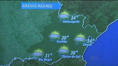 Confira a previsão do tempo para o fim de semana - O fim de semana será de temperaturas altas em todo o estado.