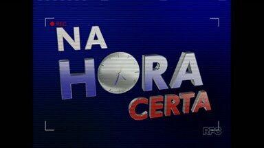 Telespectador flagra lixo jogado na Saul Elkind, em Londrina - Tem de tudo jogado na rotatória da principal avenida da zona norte de Londrina.
