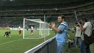 com torcedor-gandula, Palmeiras vence mais um amistoso - Verdão bate o RB Brasil por 3 a 2 em sua arena