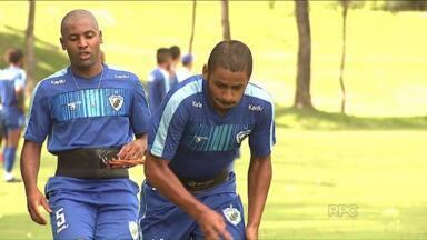 Londrina treina forte para estreia no Paranaense - Técnico Claudio Tencati já está com o time praticamente pronto. Setor ofensivo ainda segue indefinido