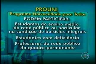Começaram as inscrições no Prouni - Veja o que é preciso para se inscrever no Prouni.