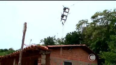 Moradores da Zona Rural da capital reclamam porque não têm enegia eletrica nas casas - Moradores da Zona Rural da capital reclamam porque não têm enegia eletrica nas casas