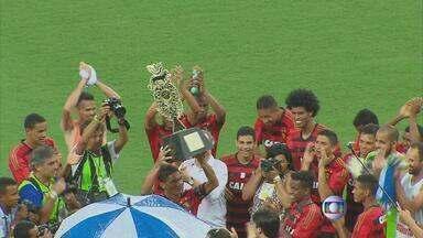 Sport inicia temporada 2015 com vitória diante do Nacional-URU - Leão garante vitória por 2 a 1 no amistoso que valia a Taça Ariano Suassuna