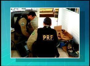 Drogas são encontradas pela PRF em mala de passageira de ônibus que ia para o Piauí - Drogas são encontradas pela PRF em mala de passageira de ônibus que ia para o Piauí