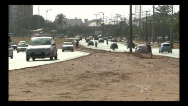 Obras deviam sentidos em trechos de avenidas da capital - Prefeitura está promovendo algumas mudanças no trânsito da capital.