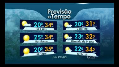Veja como fica a previsão do tempo para esta segunda-feira (26) - Veja como fica a previsão do tempo para esta segunda-feira (26)