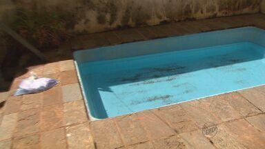 Família dá exemplo de economia de água em Ribeirão Preto - Segundo dados do Daerp, consumo da cidade aumentou aos fins de semana.