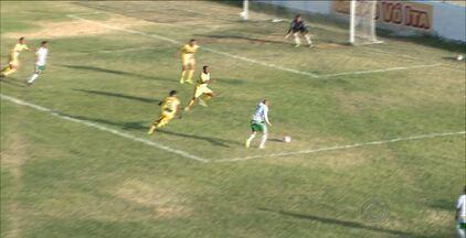 Em Sousa, o Dinossauro derrota o Lucena por 2 a 1 - Brazinha marcou os gols do time da casa e Ribinha descontou para o Tubarão do Norte. Dinossauro é o líder do Paraibano