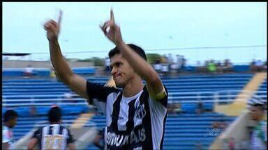 Ceará joga o básico e vence o Maranguape - Vovô fez 1 a 0 com Magno Alves.