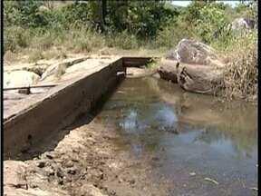 Campanário está entre as três cidades mineiras em situação de colapso por falta de água - Segundo a Copasa, esta situação acontece quando os mananciais entram em estado crítico e não tem mais como retirar água do local.