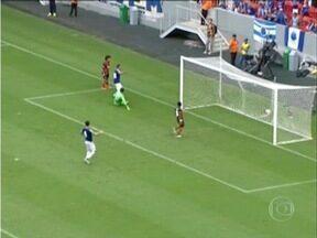 Cruzeiro reage e empata em 1 a 1 com o Shaktar Donetsk - O atacante Judivan marcou o gol cruzeirense.