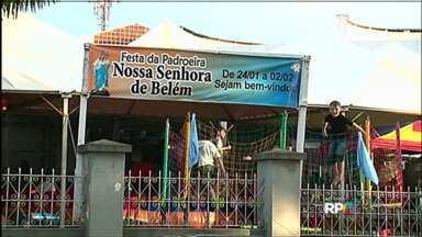 Diocese de Guarapuava promove festividades da padroeira da cidade - A programação das festividades de Nossa Senhora de Belém vai até o dia dois de fevereiro.