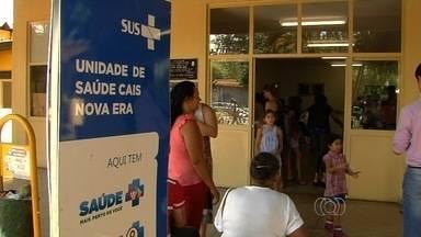 Pacientes reclamam de atendimento no Cais Nova Era, em Aparecida de Goiânia - Unidade ficou lotada de pacientes e população teve que enfrentar longa espera. Alguns casos eram considerados graves.