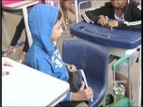 Escola em tempo integral já é uma realidade em Governador Valadares - As crianças passam 8 horas por dia na escola.