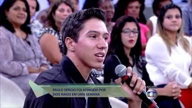 Paulo sobreviveu a duas descargas elétricas de raio em uma semana: 'Fiquei calmo' - Brasil é recordista mundial em quantidade de raios. São 50 milhões por ano