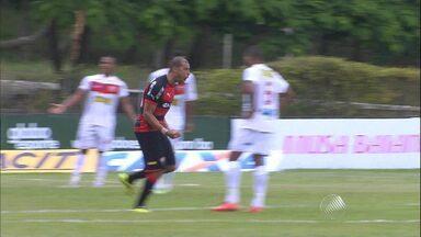 Vitória vence o Serrano em resultado definido ainda no primeiro tempo - Confira as notícias do Baianão.