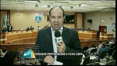 Vereador propõe mudança no projeto da Ficha Limpa - Alteração foi proposta pelo vereador Luiz Queiroga