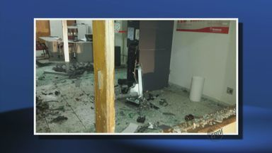 Criminosos explodem caixa eletrônico em Delfinópolis (MG) - Criminosos explodem caixa eletrônico em Delfinópolis (MG)