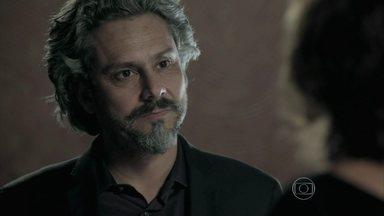 José Alfredo humilha Maria Marta - Comendador acusa a esposa de conspirar contra ele