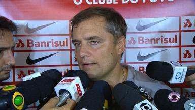 Veja a coletiva de Aguirre após o empate sem gols entre Inter e Cruzeiro-RS - Assista ao vídeo.