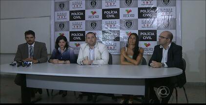 Dois suspeitos de homícidio e um golpista foram presos ontem em João Pessoa - Em um dos casos, o acusado teria matado três pessoas.