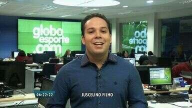 Confira os destaques desta quinta no portal do Globo Esporte - globo esporte.globo.com/ce
