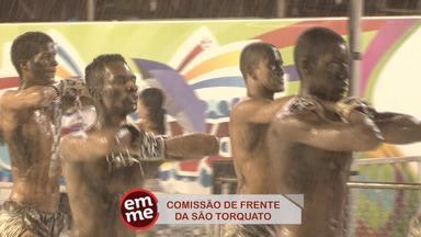 Enquete EMME: Comissão de Frente - A comissão de frente da São Torquato mostrou a que veio e emocionou o público.