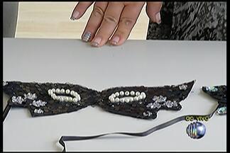 Artesã ensina a fazer máscara de Carnaval com apenas R$ 5 - Confira os materiais utilizados.