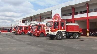 No AM, Corpo de Bombeiros recebe nova frota de viaturas - Novos equipamentos serão usados nas ações; mais de 500 incêndios ocorreram em Manaus.