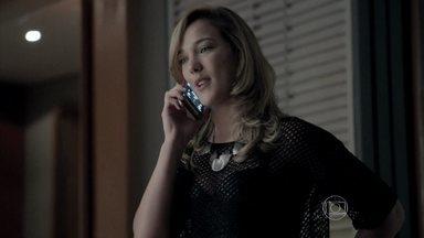 José Pedro e Amanda conversam ao telefone - Ele promete dar a volta por cima