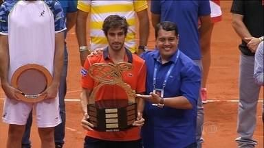 Pablo Cuevas derrota Luca Vanni e conquista Aberto do Brasil, em São Paulo - Uruguaio bateu italiano por dois sets a um.