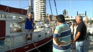 Polícia investiga morte de turista holandês em São Luís - A polícia investiga a morte de um turista holandês em São Luís. Ele viajava de barco com a mulher pela costa brasileira.