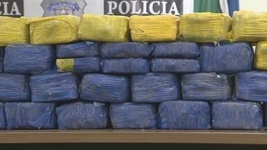 Polícia Civil apreende 150 quilos de crack - Agentes da Delegacia de Tóxicos e Entorpecentes apreenderam 150 quilos de crack. Foi a maior apreensão da droga no Amapá.